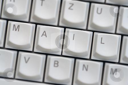 Keyboard: Mail stock photo, Keyboard: Mail by Wolfgang Heidasch