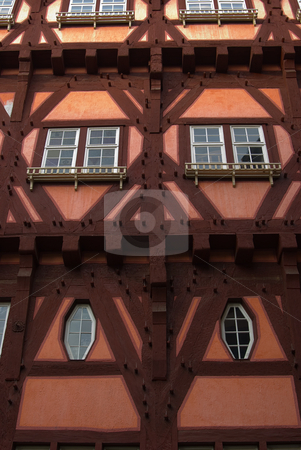 Fachwerkhaus in Esslingen am Neckar - Half timbered house in Esslingen am Neckar, Germany stock photo, Esslingen am Neckar  ist eine Stadt etwa 10 Kilometer s?d?stlich der Stadtmitte Stuttgarts am Neckar. - Esslingen am Neckar is a city in the Stuttgart Region of Baden-W?rttemberg in southern Germany, capital of the District of Esslingen as well as the largest city in the district. by Wolfgang Heidasch