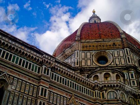 Florence Duomo stock photo, Basilica di Santa Maria del Fiore in Florence Italy by Jaime Pharr