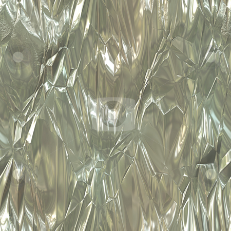 Wrinkled Tinfoil Texture stock photo, A wrinkled tinfoil texture that works great as a background. by Todd Arena