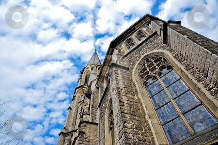 Aachen Cathedral stock photo, Looking up at the Aachen Cathedral by Jaime Pharr