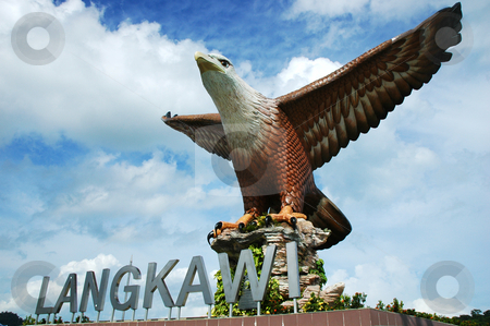 Langkawi Eagle stock photo,  by Norazshahir Razali