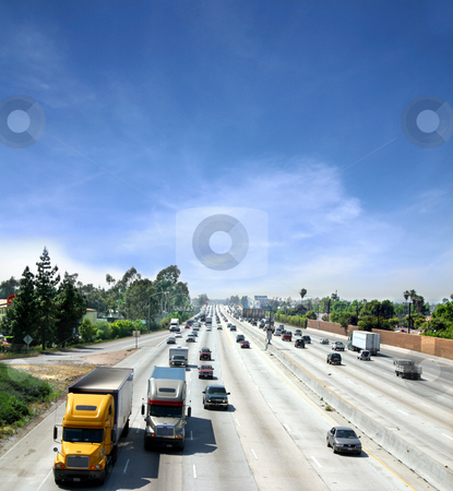 Highway stock photo, Highway in California by Jan Martin Will