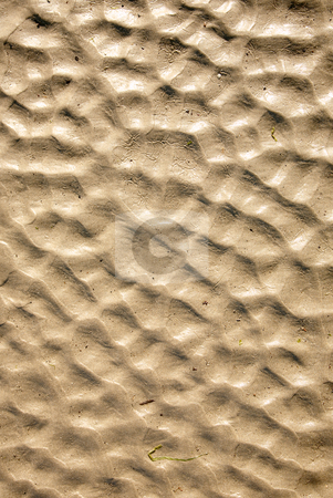 Natural beach sand ripples abstract background. stock photo, Natural beach sand ripples abstract background. by Stephen Rees
