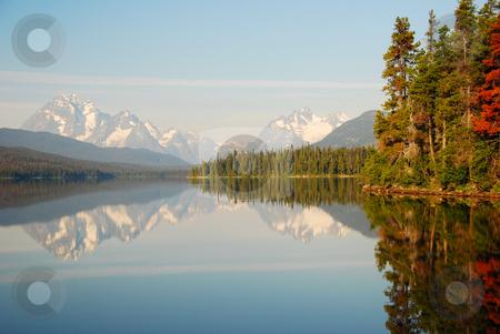 Turner lake stock photo, Turner lake canada british columbia by Wolfgang Zintl