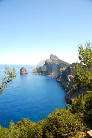 Mallorca stock photo, Cap de majorca on a nice summer day by Wolfgang Zintl