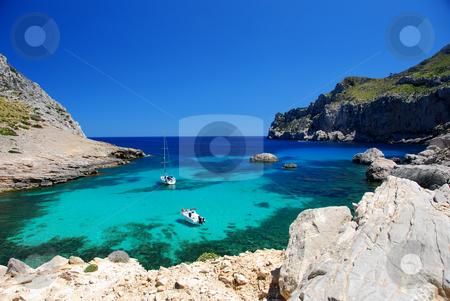 Mallorca stock photo, Beautiful beach on the island mallorca by Wolfgang Zintl