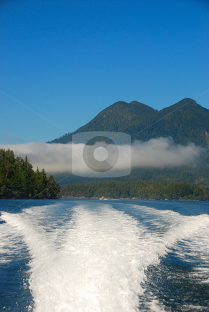 Ocean stock photo, Boat ride on the ocean by Wolfgang Zintl