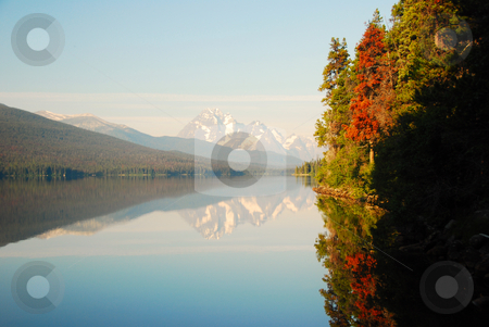Paradise stock photo, Coast mountains in canada british columbia by Wolfgang Zintl