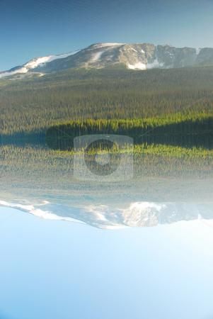 Beatiful Lake stock photo, Lake and Water reflection in Canada British Columia by Wolfgang Zintl