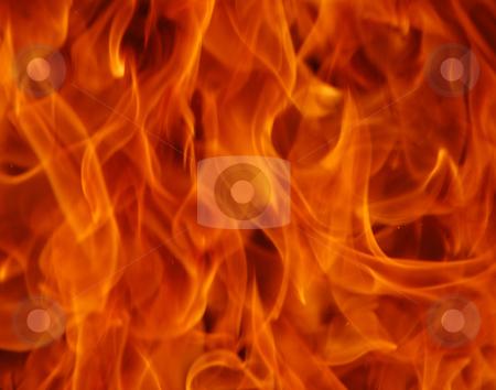 Fire stock photo, Beautiful close up shoot of fire flammes by Wolfgang Zintl