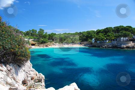 Mallorca stock photo, Coast line of island mallorca spain by Wolfgang Zintl