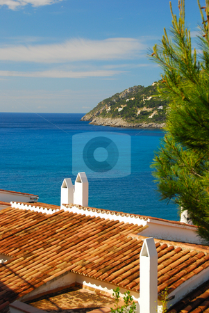 Mallorca stock photo, Ocean view on the island mallorca by Wolfgang Zintl
