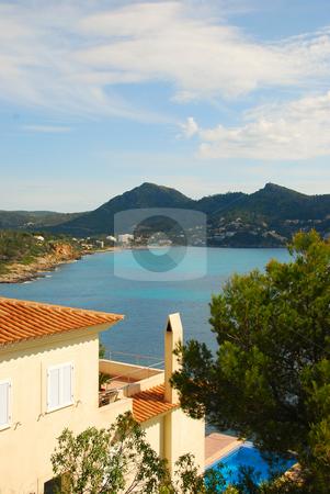 Mallorca stock photo, House on the coast line of mallorca by Wolfgang Zintl