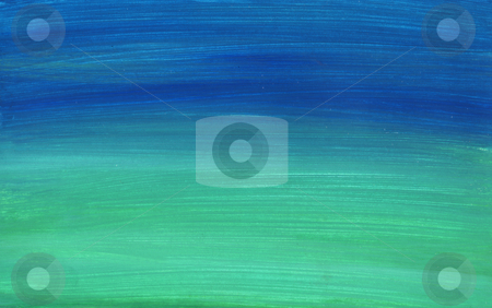 Abstract landscape stock photo, Abstract hand painted landscape background by Kirsty Pargeter