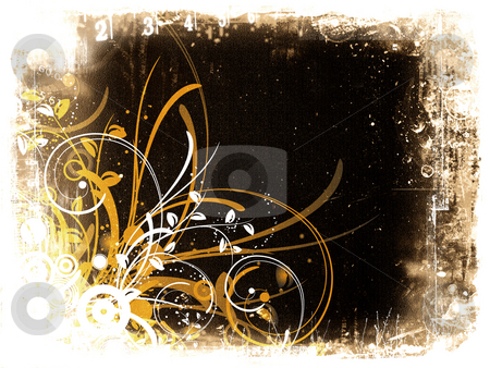 Decorative grunge stock photo, Decorative grunge background by Kirsty Pargeter