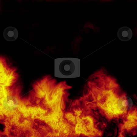 Fire stock photo, Abstract fire background by Kirsty Pargeter