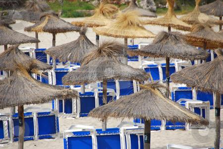 Mallorca stock photo, Beach on the island mallorca spain by Wolfgang Zintl