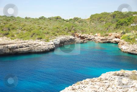 Mallorca stock photo, Beautiful bay on the island mallorca spain by Wolfgang Zintl
