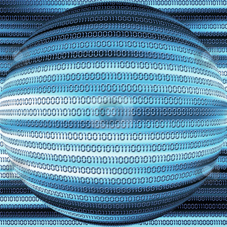 Binary code abstract stock photo, Abstract background of binary code by Kirsty Pargeter