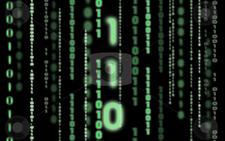 Binary Code stock photo,  by Kirsty Pargeter