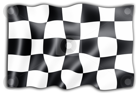 Checkered flag stock photo, Checkered flag background by Kirsty Pargeter