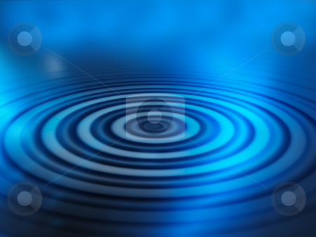 Water ripples stock photo, Abstract water ripples background by Kirsty Pargeter