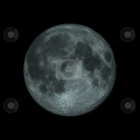 Moon stock photo, Fictional moon image by Kirsty Pargeter