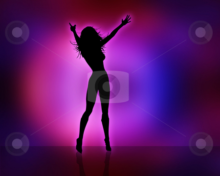 Sexy female stock photo, Silhouette of a sexy female by Kirsty Pargeter