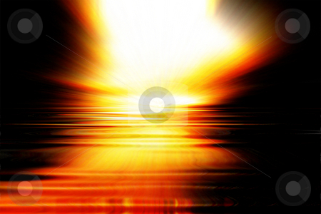 Sunset explosion stock photo, Abstract sunset background by Kirsty Pargeter