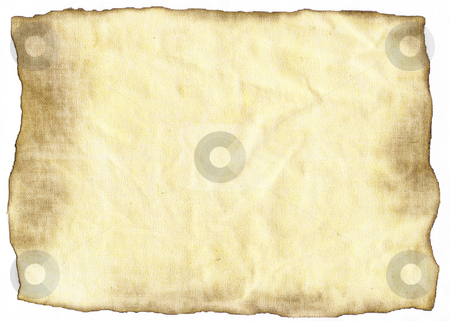 Old paper stock photo, Background of old burnt paper by Kirsty Pargeter