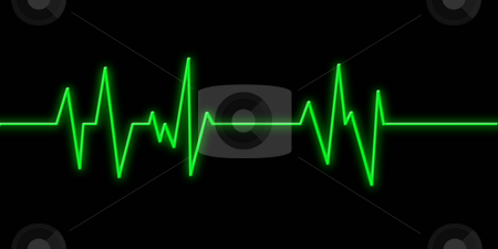 Heartbeat stock photo, Hearbeat monitor background by Kirsty Pargeter
