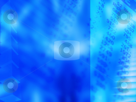 Shares stock photo, Abstract financial background by Kirsty Pargeter
