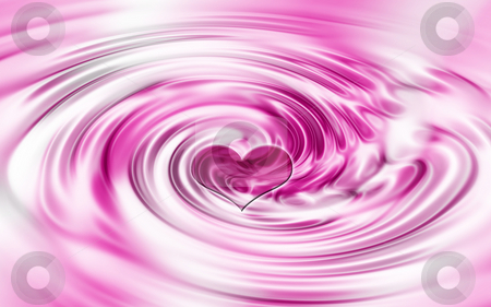 Heart background stock photo, Heart ripples background by Kirsty Pargeter
