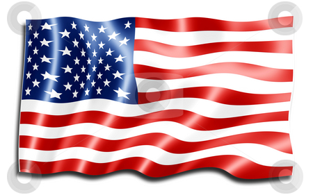 US Flag stock photo,  by Kirsty Pargeter