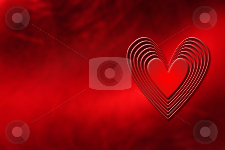 Heart background stock photo, Abstract heart background by Kirsty Pargeter