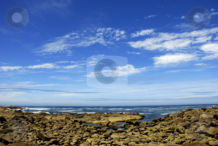 Rocks stock photo, Small beach rocks at algarve in the south of portugal by Rui Vale de Sousa