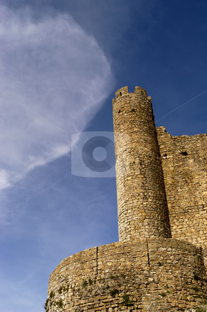 Castle stock photo, Portuguese ancient castle in the south of the country by Rui Vale de Sousa