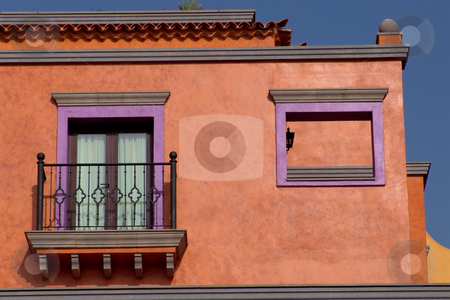 House stock photo, Small colored house detail in tenerife, spain by Rui Vale de Sousa