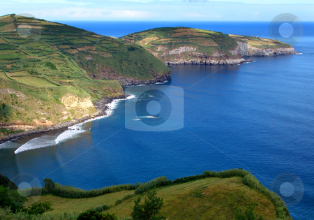 Island stock photo, Land and ocean by Rui Vale de Sousa
