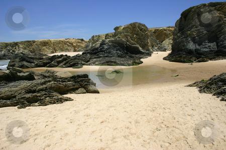 Beach stock photo, Portuguese beach detail by Rui Vale de Sousa