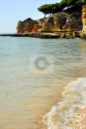Beach stock photo, Portuguese natural beach at the south of the country by Rui Vale de Sousa