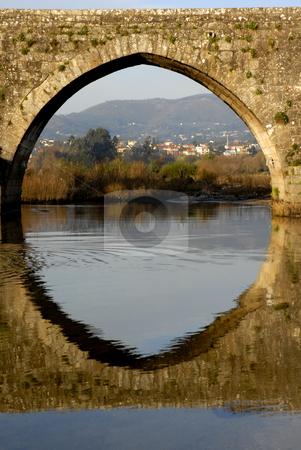 Bridge stock photo, Ancient roman bridge detail in the north of portugal by Rui Vale de Sousa