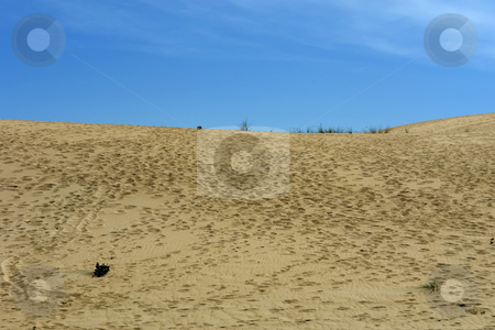 Sand stock photo, Desert sand and the sky in the north of spain by Rui Vale de Sousa