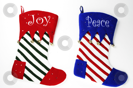 Christmas Stocking stock photo, Christmas stockings ready to be hung by Matt Baker