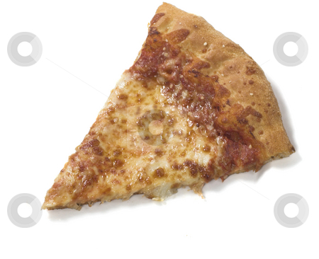Pizza slice stock photo, A slice of pizza by Matt Baker