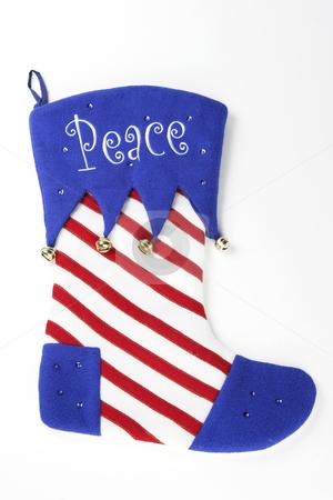 Christmas Stocking stock photo, A Christmas stocking ready to be stuffed by Matt Baker