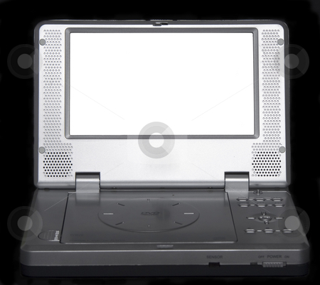 Generic DVD player stock photo, A generic dvd player with an empty screen by Matt Baker
