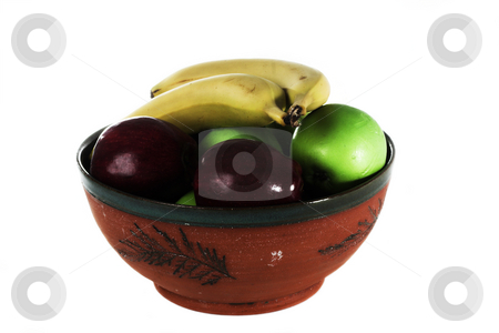 Fruit bowl stock photo, A bowl full of healthy fruit to eat by Matt Baker