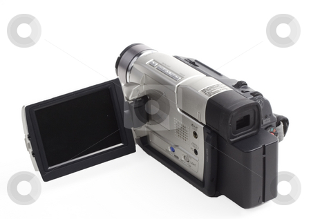 Camcorder stock photo, One of the first generation dv camcorder by Matt Baker